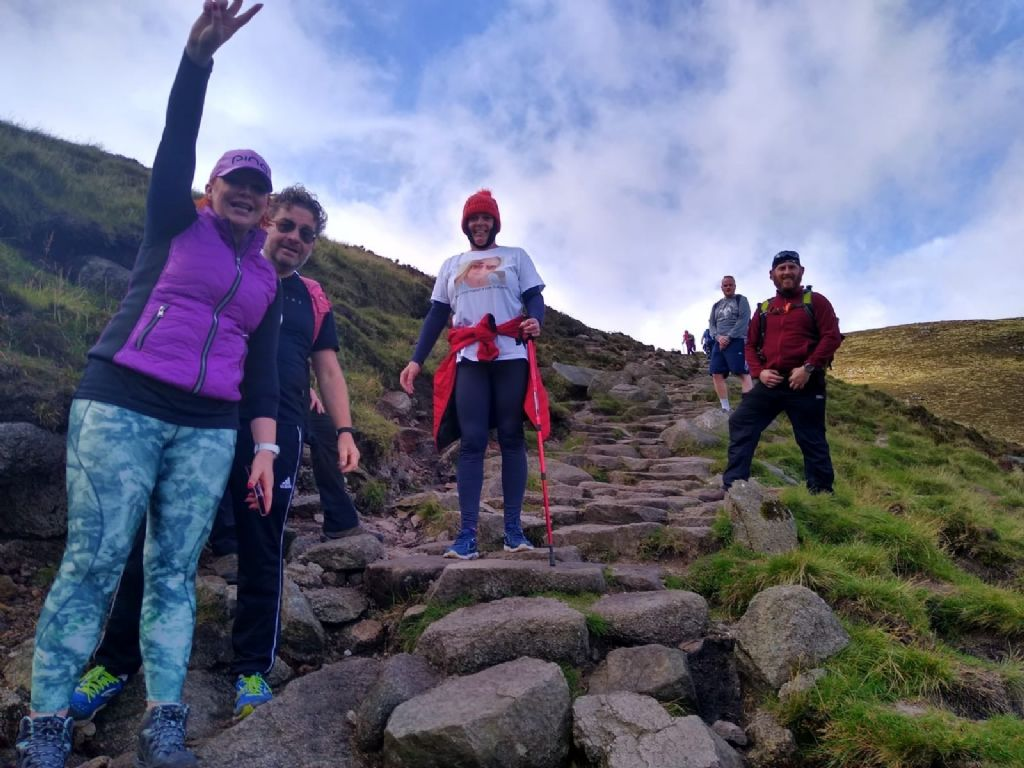 Slieve Donard Achievement for World Suicide Prevention Day 2020