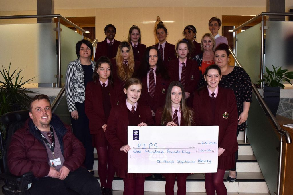 St. Mary's Students Fundraise for PIPS Hope and Support