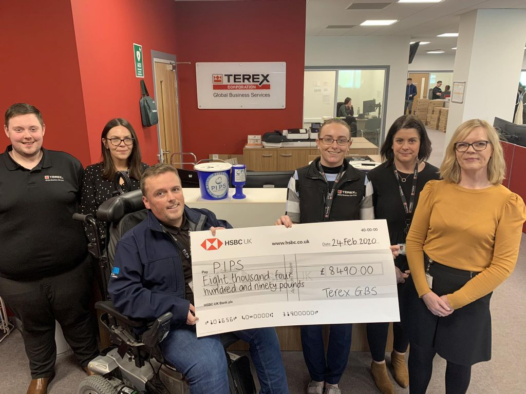 Terex Globals Boost to Suicide Prevention Services
