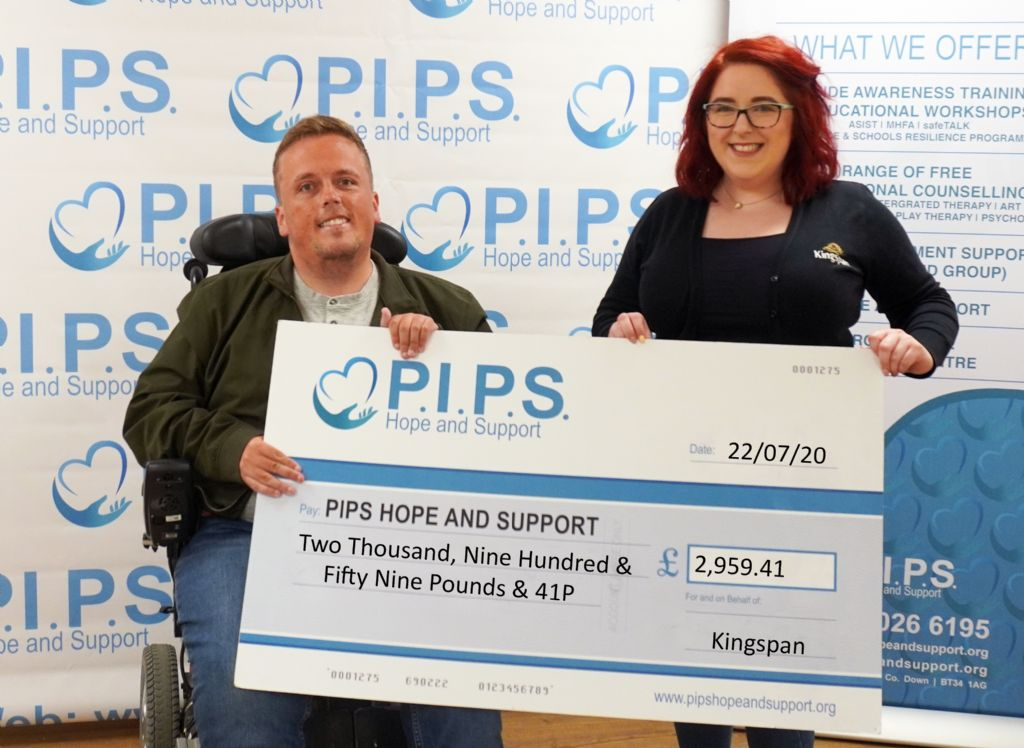 Kingspan Water & Energy Donate £2,959.41 to Suicide Prevention