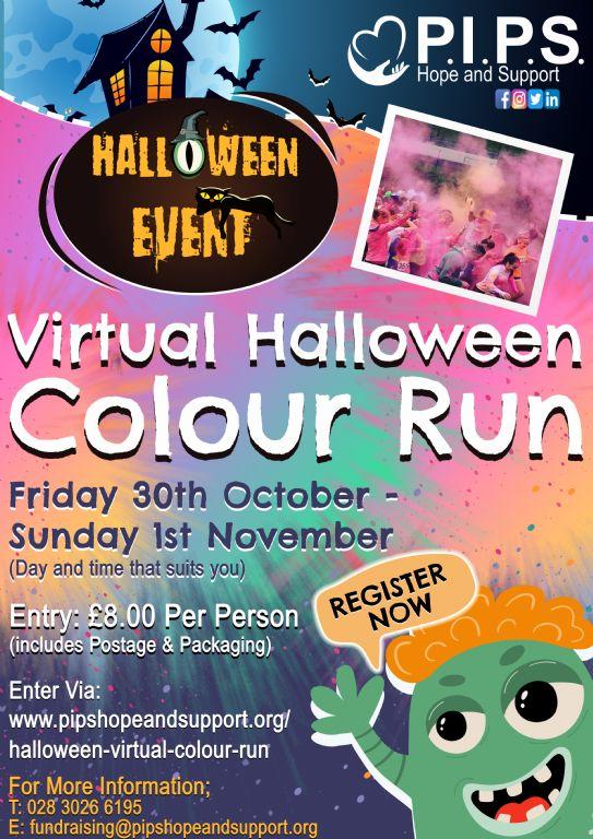 Halloween Virtual Colour Run