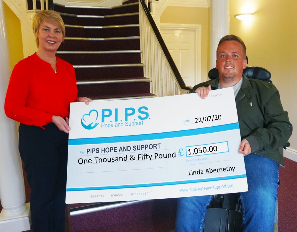 Linda's Pavement Pound Raises One Thousand Pound for Suicide Prevention Charity
