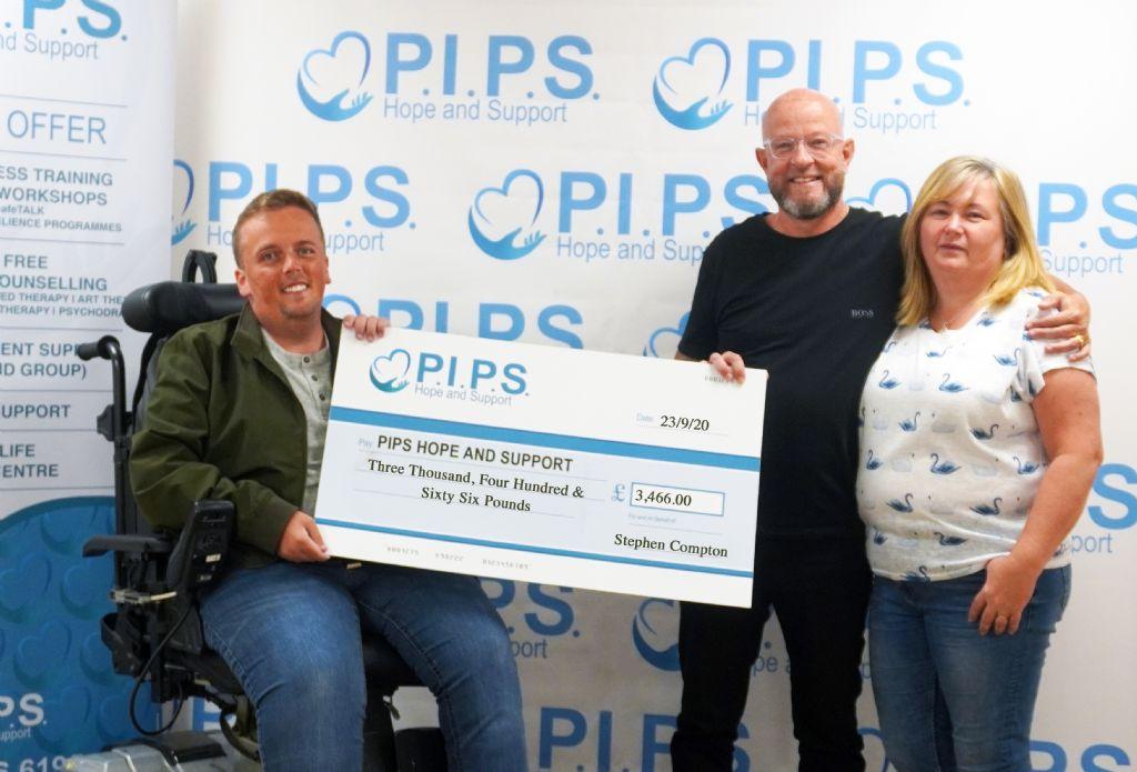 Stephen's Slieve Donard Trek for World Suicide Prevention Day