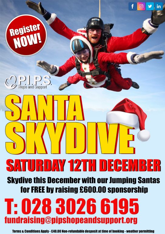 Santa Skydive