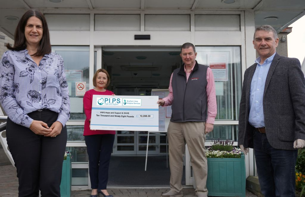 Councillor's StepUpForCharity raises thousands for PIPS Hope & Support