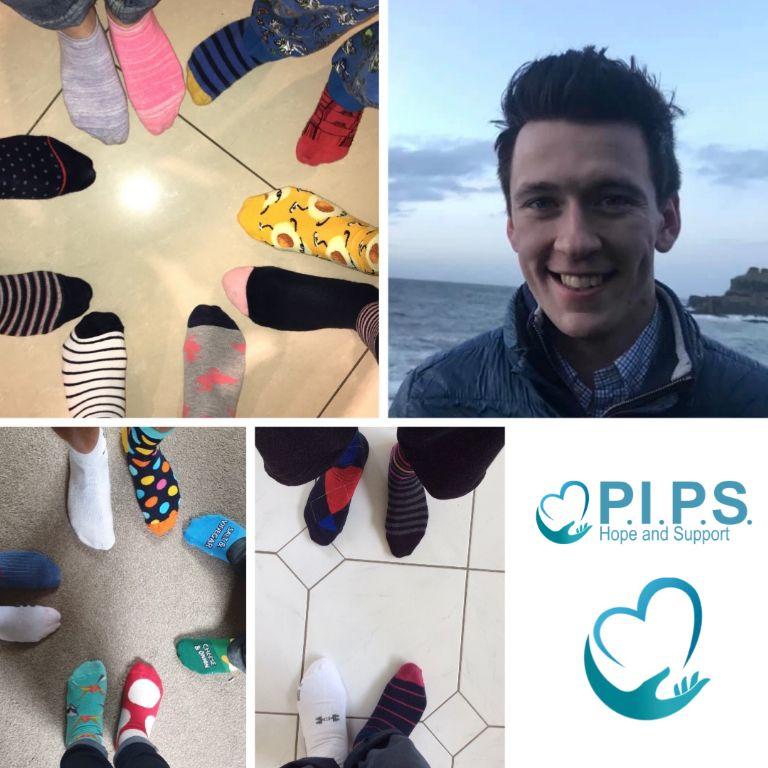 Compton Families Odd Sock Day for Mental Health Awareness Week